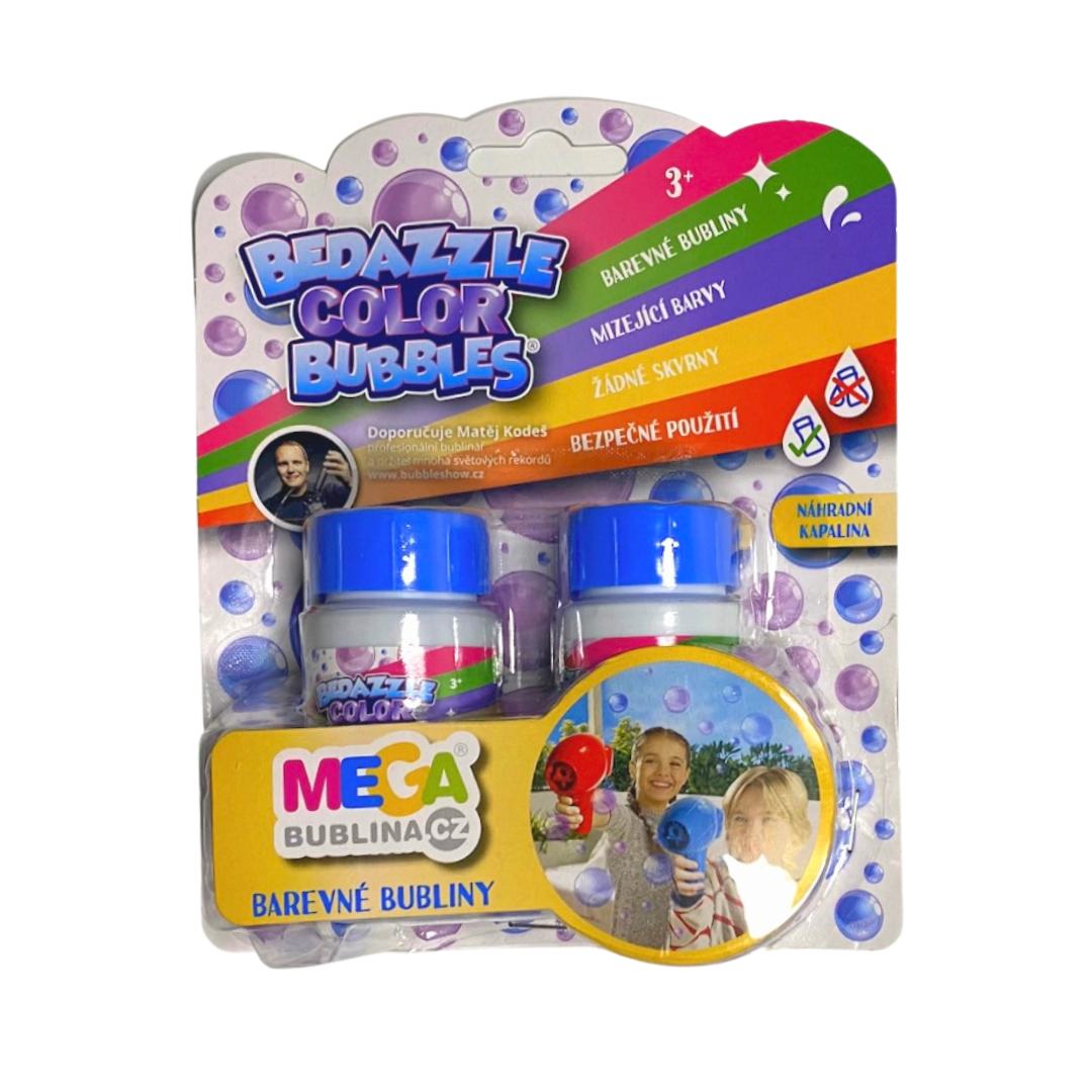 barevé bubliny megabublina