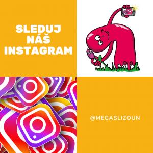 sliz na instagramu