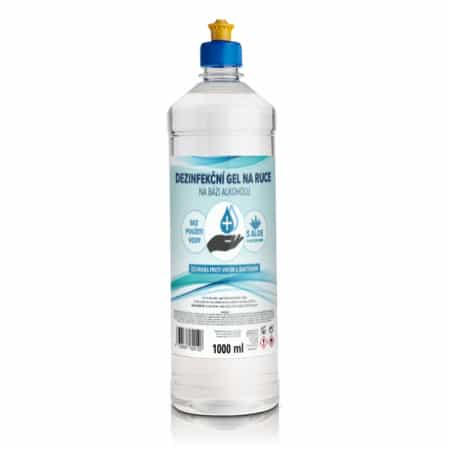 Dezinfekční gel na ruce, 1000 ml