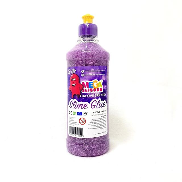 třpytkové lepidlo fialové