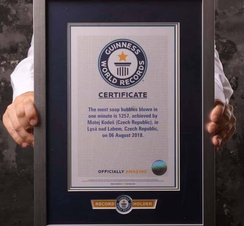 světový rekord