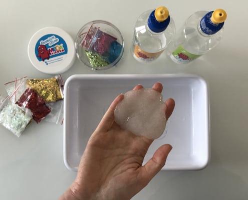 výroba slizu