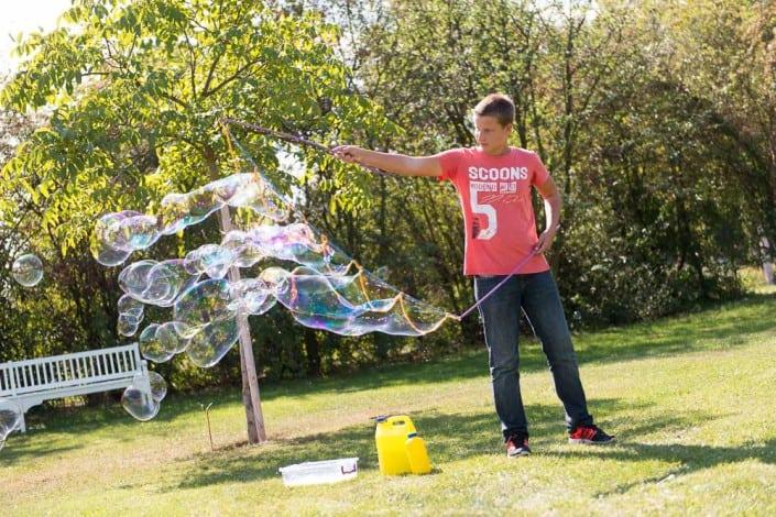 bublinový workshop