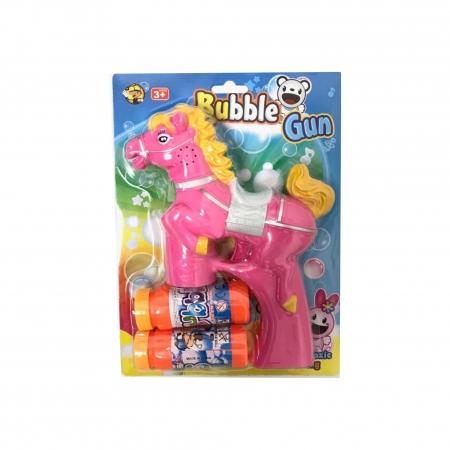 pistole na bubliny kůň